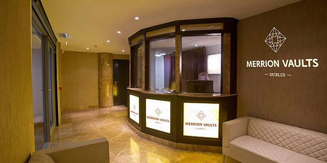 Cork Vaults Secure Storage reception area
